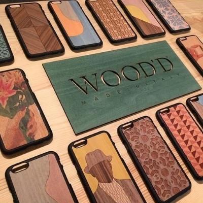 wood case iphone display