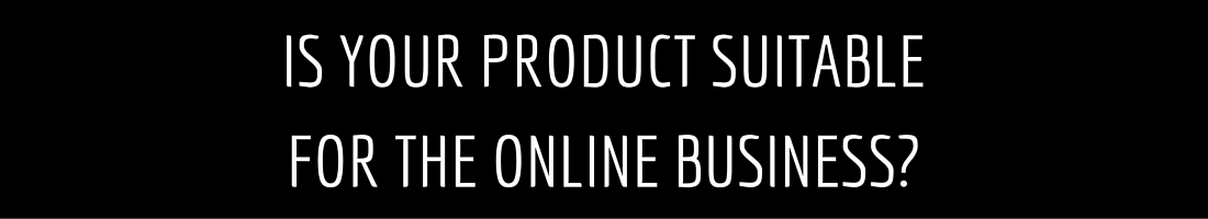 Online business ecommerce: check product first