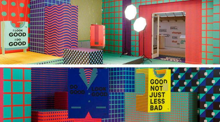 Fashion For Good facilities are colorful and meaningful