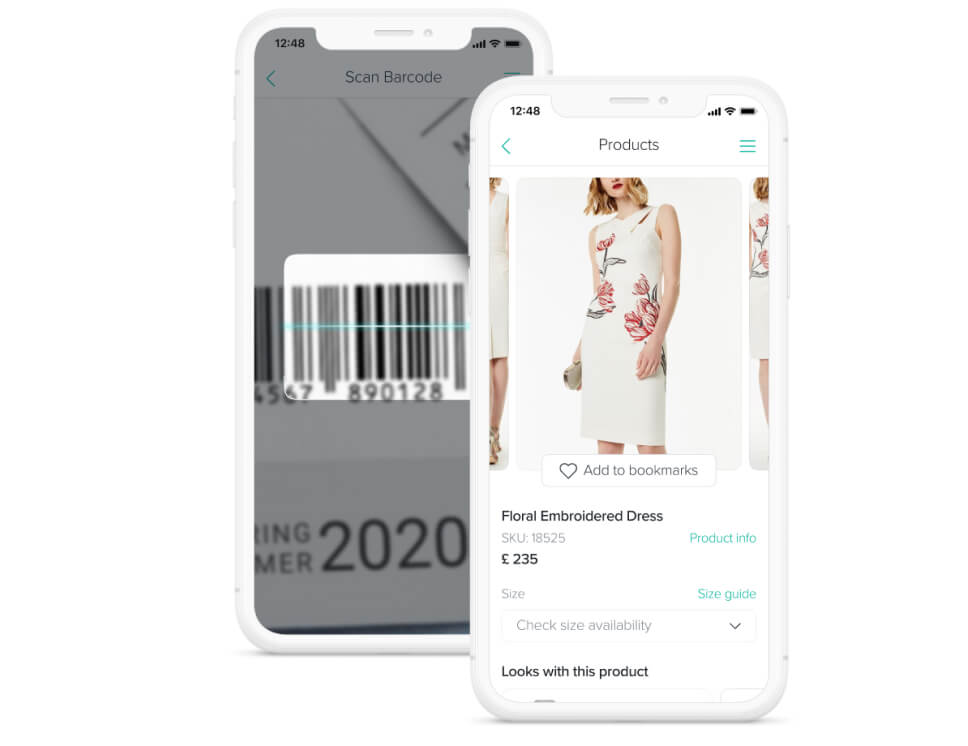 digital transformation for retail solution: app for customer engagement by Mercaux