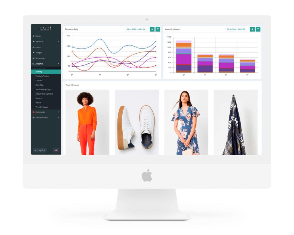 in-store data app retail digital transformation mercaux