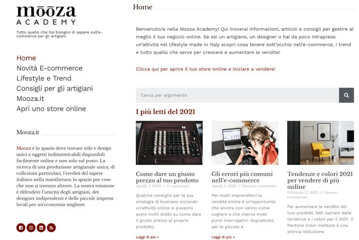 Mooza_academy_homepage