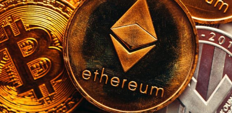 Ethereum Bitcoins Blockchain Cryptocurrency