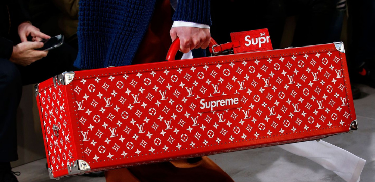 The Supreme and Louis Vuitton Collab Brand partnerships co-branding