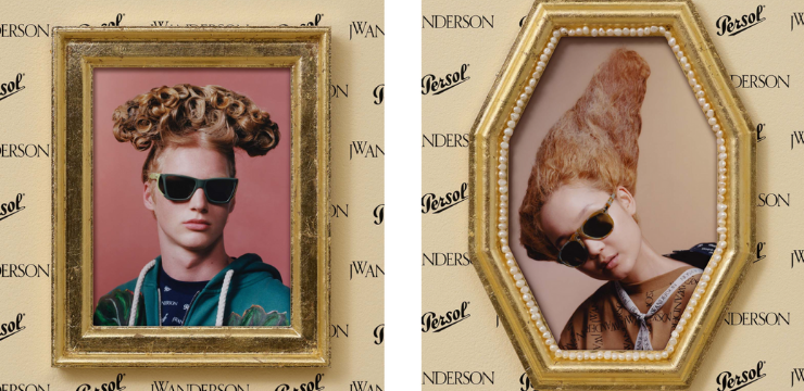 Brand partnership Persol and JW Anderson Collaboration Collab